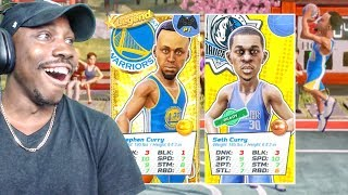 CURRY BROTHERS LINEUP IS CHEESE SHOOTING THREES! NBA Playgrounds Gameplay Ep. 21