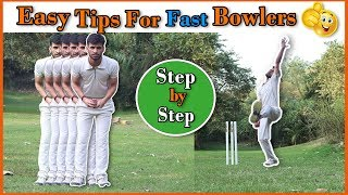 How to Bowl Faster in Cricket  !! How to Use wrist in Fast Bowling !!
