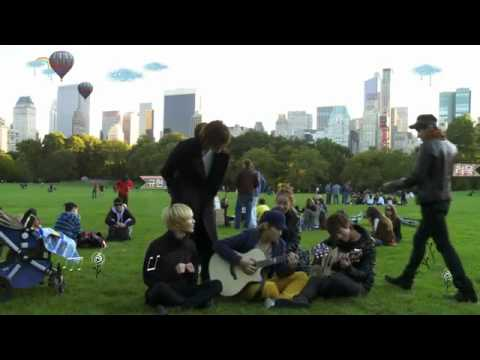 [Official] SMTOWN MOVIE I AM - SM Artistes singing Sorry Sorry in Central Park