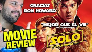 HAN SOLO - CRÍTICA - REVIEW - OPINIÓN - A Star Wars Story - Ron Howard - Alden Ehrenreich