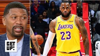 LeBron has to be MVP-level dominant for the Lakers to make playoffs – Jalen Rose | Get Up!