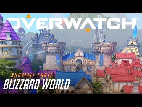 Aperçu de la nouvelle carte hybride : Blizzard World (VF) - YouTube