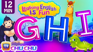 GHI Songs | Learning English Is Fun™ | ChuChu TV Phonics & Words Learning For Preschool Children