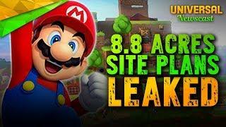 Super Nintendo Worlds 8.8 Acre Leaked Permits Plans - Universal Studios News 11/29/2017