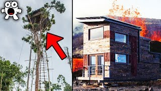 Top 10 Most Dangerous Buildings That People Actually Still Live In