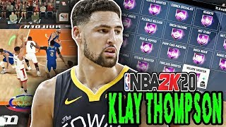 NBA 2K20 KLAY THOMPSON BUILD! YOU NEED TO MAKE THIS BUILD BEFORE IT GETS PATCHED!