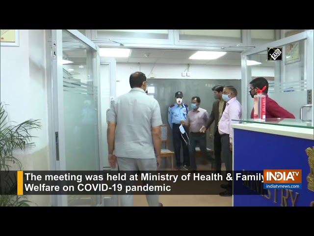 High-level meeting of GoM held on COVID-19 pandemic in Delhi