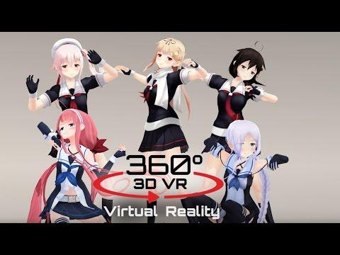 360 3D 4K | MMD Ikkitousen