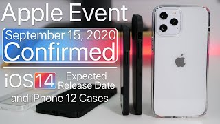 September 2020 Apple Event Confirmed, What to Expect, iOS 14 release date and more
