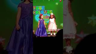 Cute Little 3 Year Old Best Friends Dancing (Menelie and Sineli) First Time On Stage. Amazing Angelz