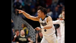 Carsen Edwards Scores 42 Points, Leads Purdue to the Sweet 16