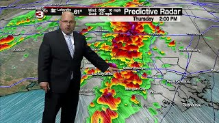 Rob's weather forecast 4-17-19 6pm