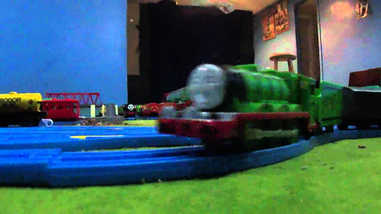 Tomy Thomas And Friends Quot Henry S Accident Quot Short Youtube