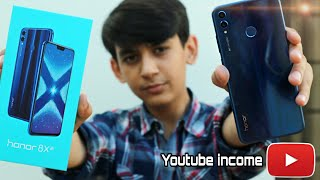 Buying Phone From Youtube Earning💵 | Honor 8x Unboxing | Pros Lab