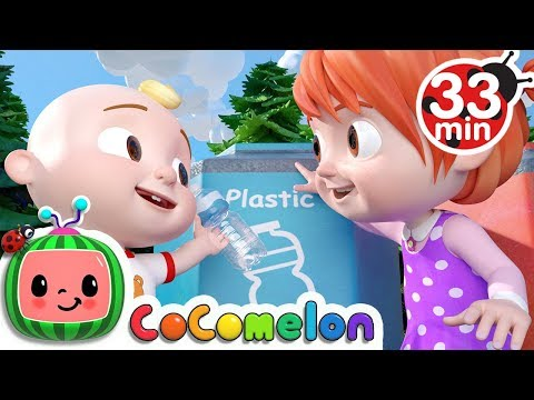 The Clean Up Trash Song   +More Nursery Rhymes - Cocomelon (ABCkidTV)
