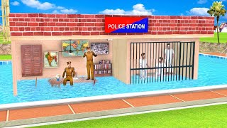 Swimming Pool Police Station Funny Comedy Video हिंदी कहनिया Hindi Kahani Stories Hindi Comedy Video