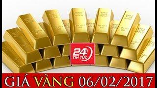 Giá vàng hôm nay 6/2/2018: Chứng khoán lao dốc, vàng tăng trở lại | Tin Tức 24h