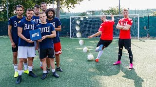 FOOTBALL CHALLENGES vs I 2BOMBER DEL FREESTYLE!