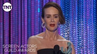 Sarah Paulson: Acceptance Speech  | 23rd Annual SAG Awards | TNT