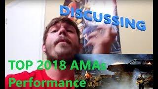DISCUSSING twenty one pilots AMAs Performance 2018