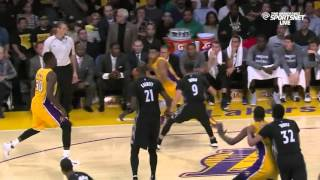 Timberwolves vs. Lakers - Team Highlights October 28, 2015