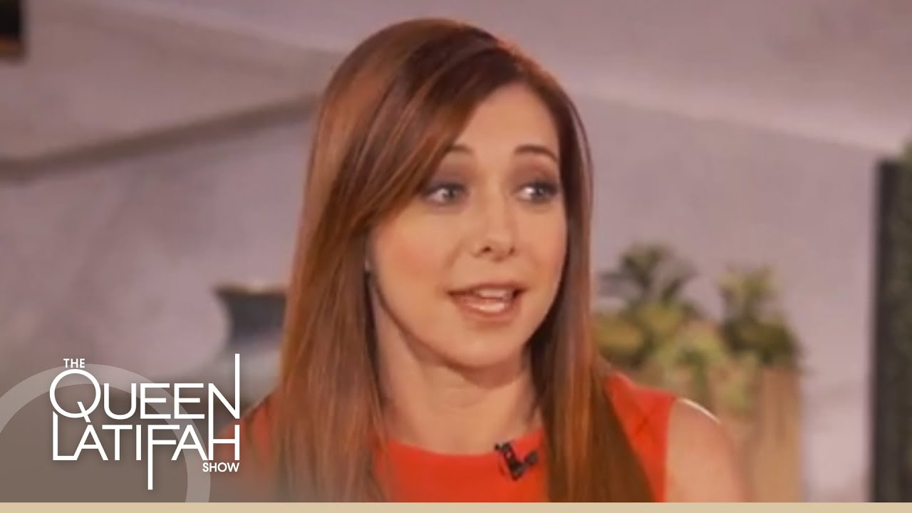 Alyson Hannigan Talks Anniversary Plans on The Queen Latifah Show