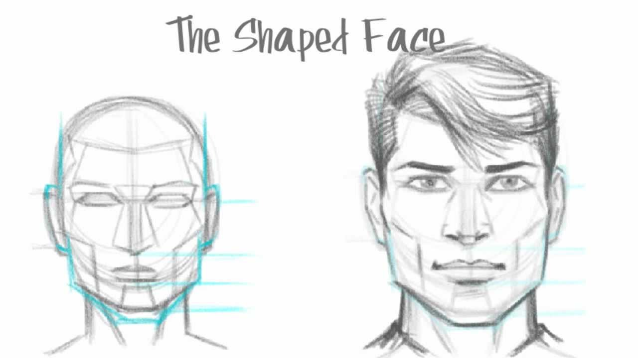 How To Draw A Mouth For A Man