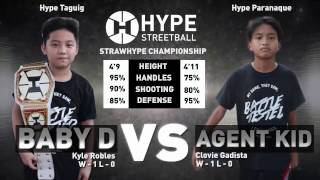 Hype Streetball - Baby D vs Agent Kid