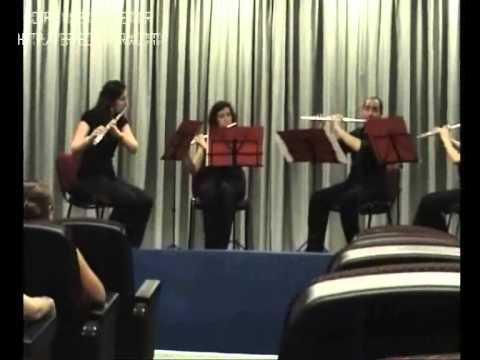 Concierto para cuarteto de flautas (Anton Reicha) - III. MINUETO / IV. ALLEGRO VIVACE