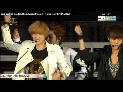 EXO - 130119 Golden Disk Awards - We Are The Future