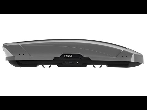 THULE Motion XT Sport (600) Black Glossy Roof Box 6296B