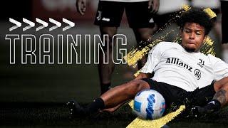 💪? Friday Finishing, Team Match & Basketball! | Juventus Training