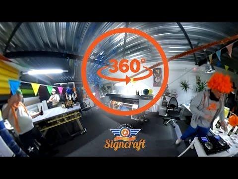 [360 VR] Harlem Shake Signcraft Rotterdam