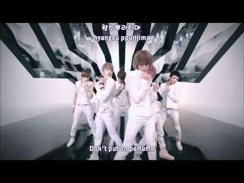 Teen Top - Don't put on perfume MV [english subs + romanization + hangul]