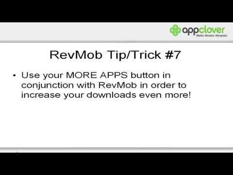 RevMob Training: Making Money With Apps -- Video 3