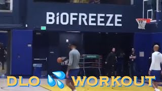 [HD] D'Angelo Russell 💦 workout at Warriors (0-0) practice, 4 days b4 Opening Night vs LA Clippers