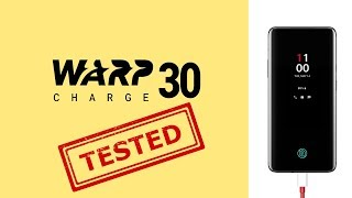 Warp Charge 30 on the OnePlus 7 Pro - Testing & Comparison