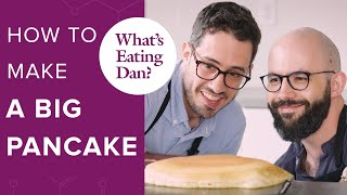 Dan Souza and Andrew Rea Make Pancakes with a Robot | What's Eating Dan?