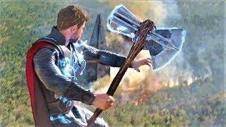 Avengers Infinity War - Thor Got Stormbreaker - Thor Kills Thanos (HD)