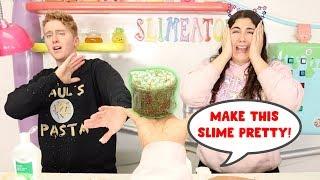 MAKE THIS SLIME PRETTY CHALLENGE! Slimeatory #574