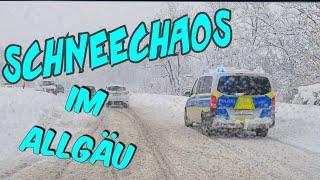 SCHNEECHAOS im Allgäu 2021 ❄❄❄☃️❄❄❄ |1 Meter neu Schnee | Onkel David | snow chaos Schneegestöber