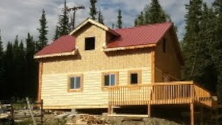 How to build an Off-Grid cabin in the woods