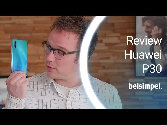 Belsimpel-productvideo voor de Huawei P30 Twilight