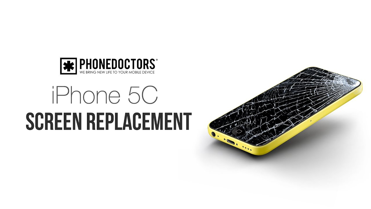 replace iphone 5c screen how to iphone 5c lcd digitizer screen replacement 15993