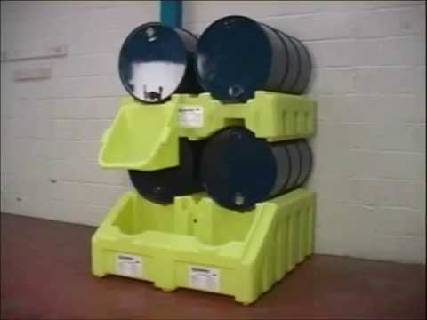 BARR Spill Control Poly Rack System
