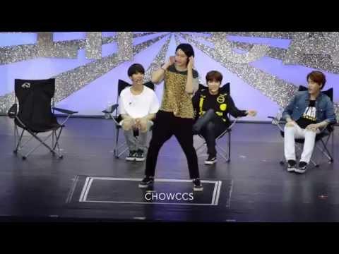 160528 Super Camp in Macau Yesung Heechul girl group dance