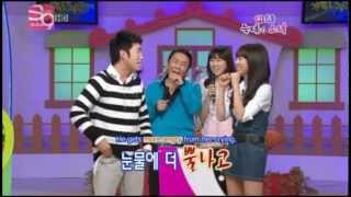 Girls' Generation (SNSD) Aegyo and Strength Secrets [Eng Subs]