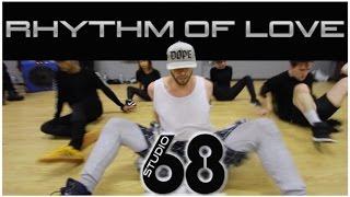 Rhythm Of Love at Studio 68 London - @brianfriedman Choreography
