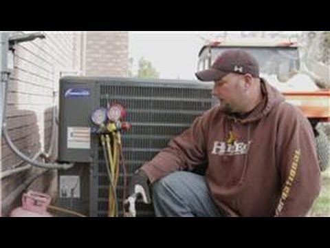 Central Air Conditioning Information How To Recharge