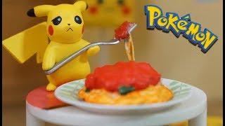 Pokemon ! Pikachu loves ketchup「ポケットモンスター ピカチュウ ケチャップすきでちゅう♥」ポケモンのリーメント